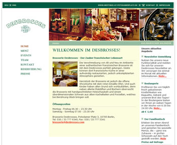 Die Brasserie Desbrosses im Berliner Ritz-Carlton