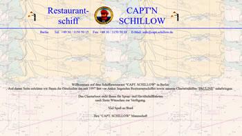Restaurantschiff Capt´n Schillow in Berlin