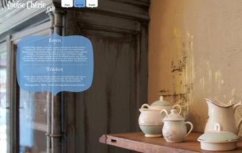 Louise Chérie Café Webseite