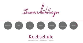 Mühlberger Restaurant Webseite