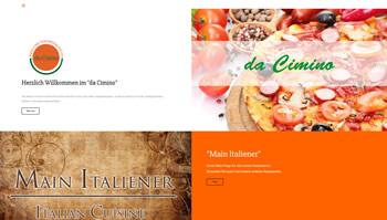 Pizzeria Cimino Webseite